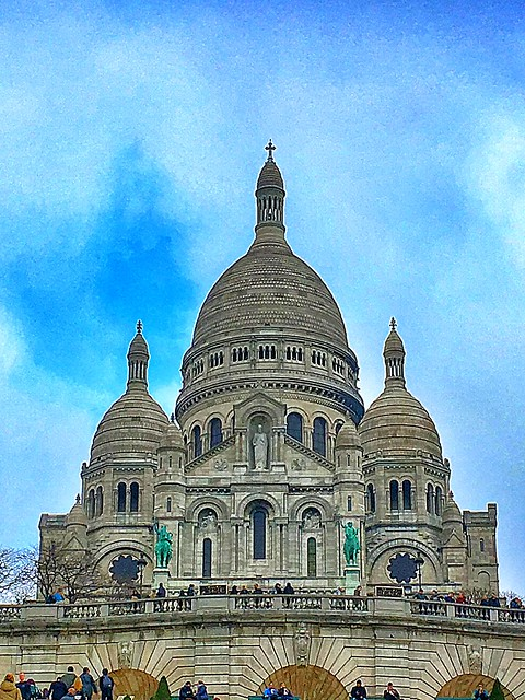 Basilique Sacré-Coeur - Paris - France - Exterior