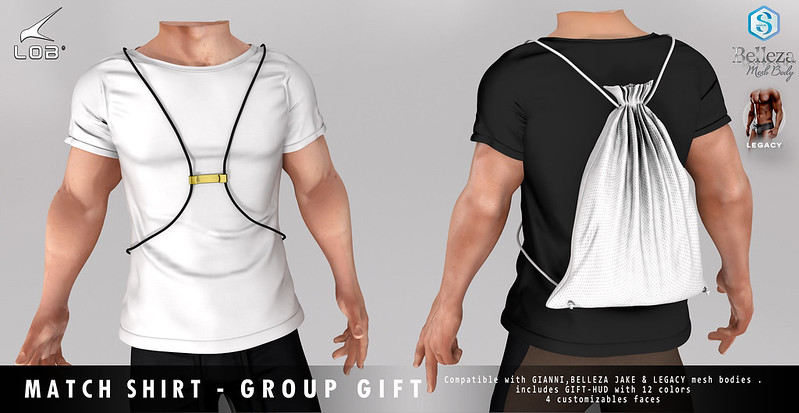 [LOB] MATCH SHIRT - GROUP GIFT