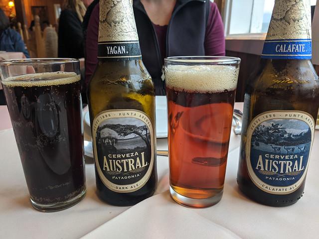 local beer @ Restaurante Pehoe