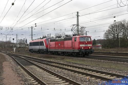 181 213 . SEL + 36001 . ex-SNCF . Homburg (Saar) Hbf . 21.12.19.