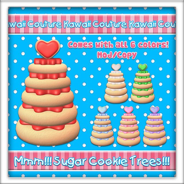 Kawaii Couture - Sugar Cookie Tree Round Ad