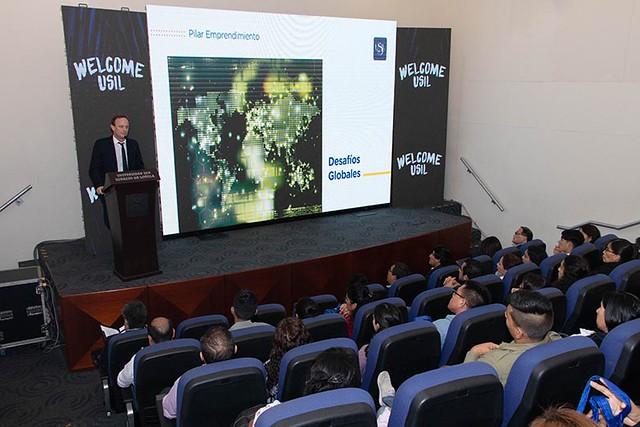 USIL realizó charla de bienvenida  para escolares que aprobaron el SPU