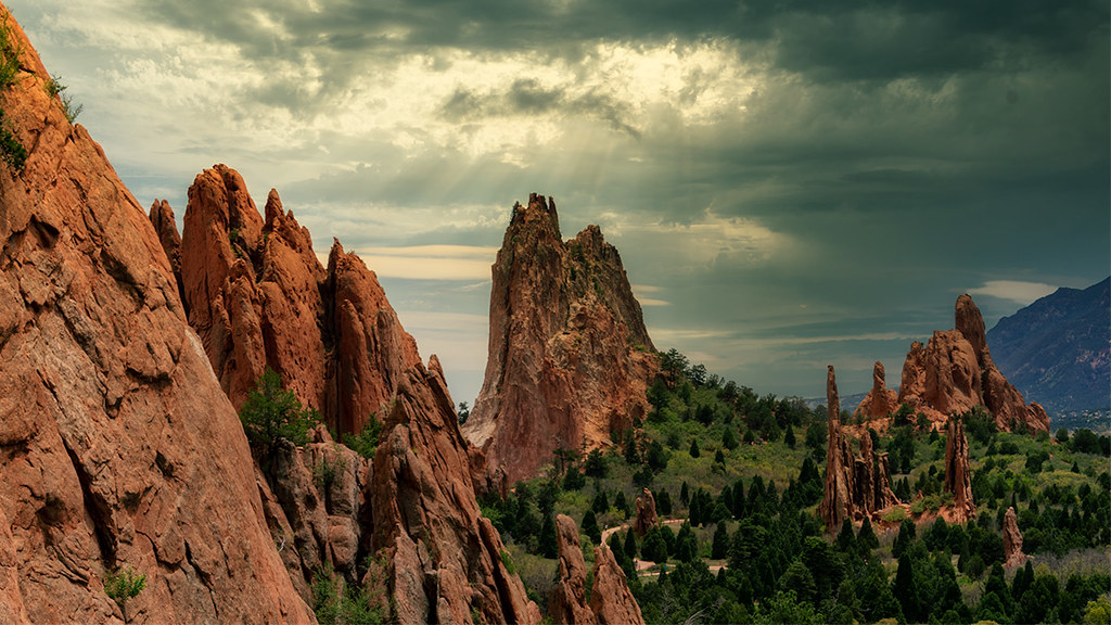 Cathedral Valley: Garden of the Gods, Colorado Springs
