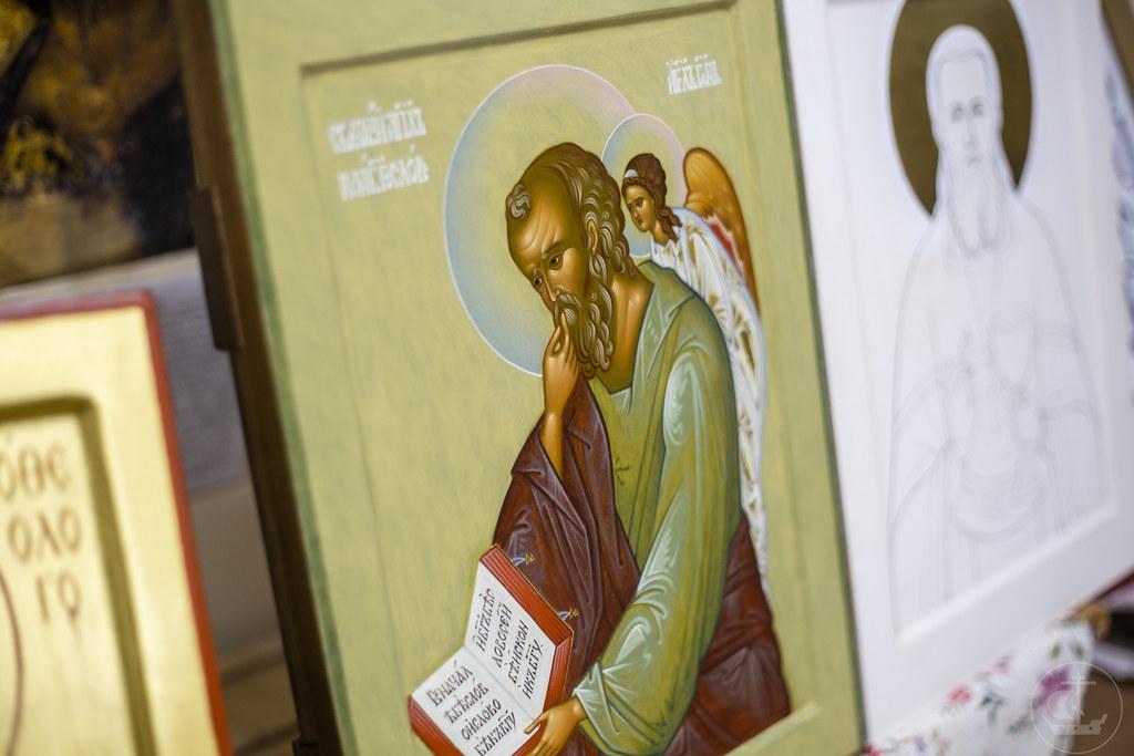 26 декабря 2019, Смотр работ на иконописном отделении / 26 December 2019, Review of the Iconographic Faculty works