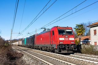 DB Cargo Italia E 483.106 - Treno merci
