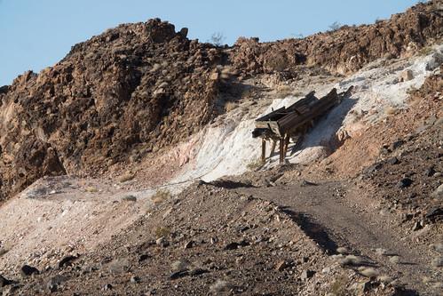 Old Talc Mine in Ibex Wilderness