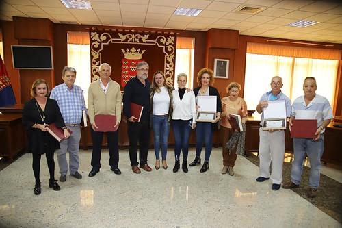 Acto de homenaje a los trabajadores jubilados del Cabildo
