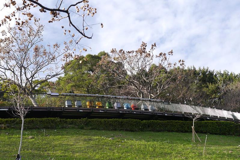 五股水碓觀景公園第六階觀景台