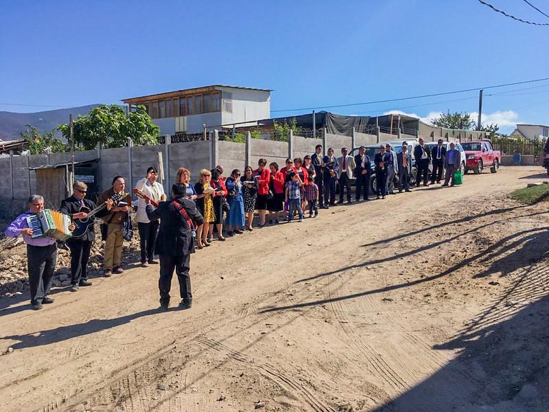 """""""La Obra de Cristo sigue creciendo"""" Inauguración Templo de la Clase Arca de Noé de Coquimbo."""