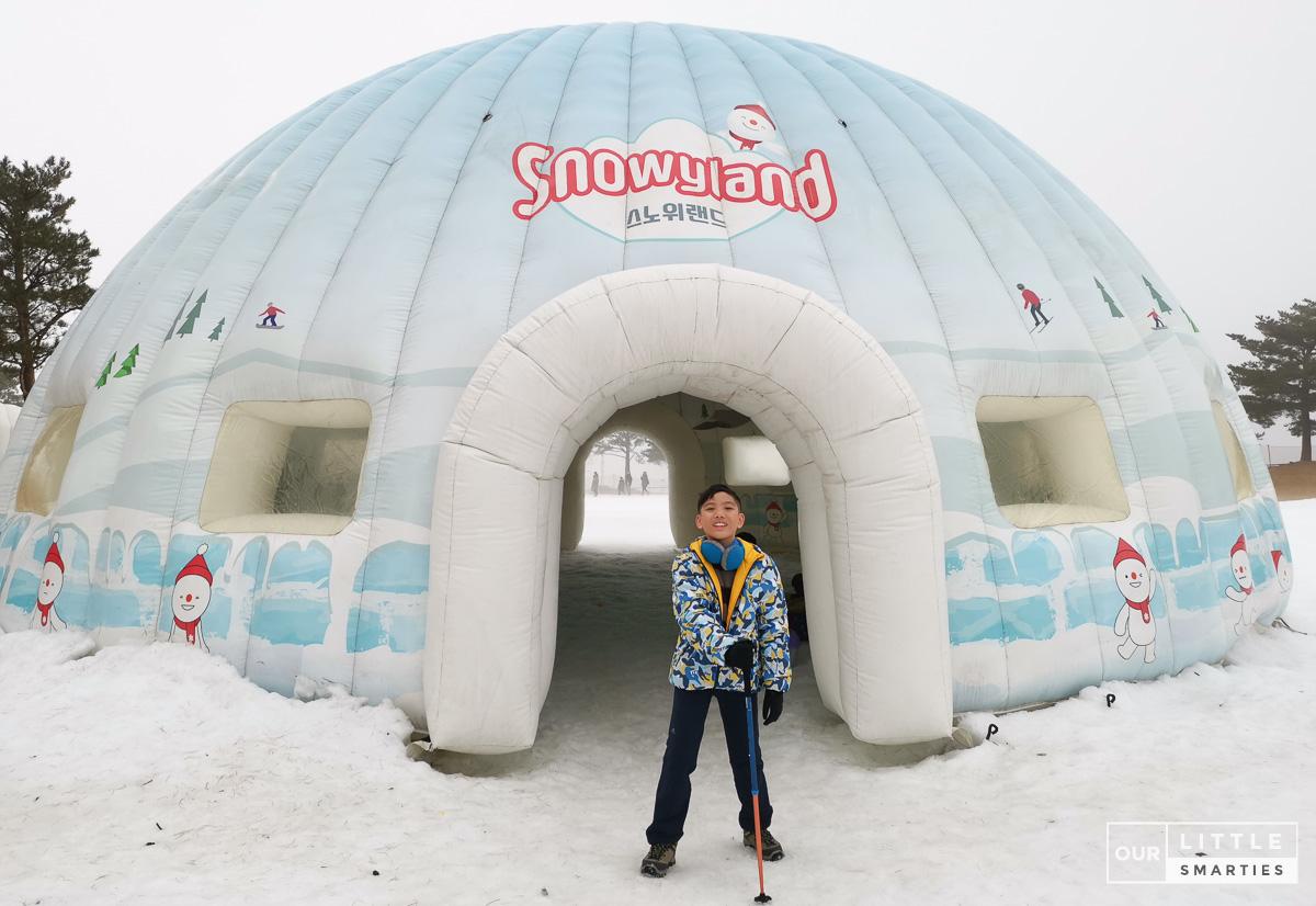 Snowy Land Vivaldi park