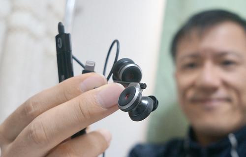 iPhoneでバイノーラル録音するマイク