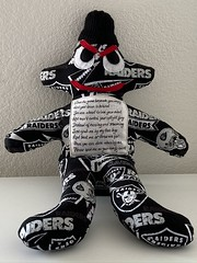 The angry voodoo doll