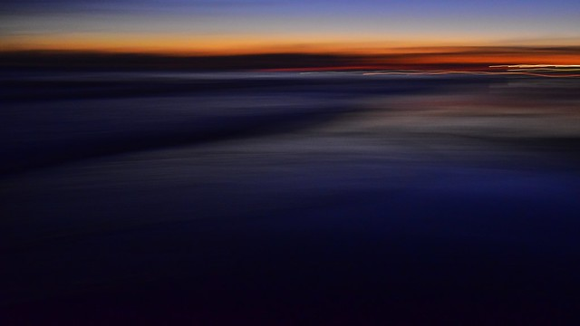 SoCal sunset abstract