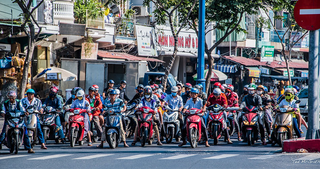 2019 - Vietnam - Ho Chi Minh City - 29 - Motorcycle Mayhem