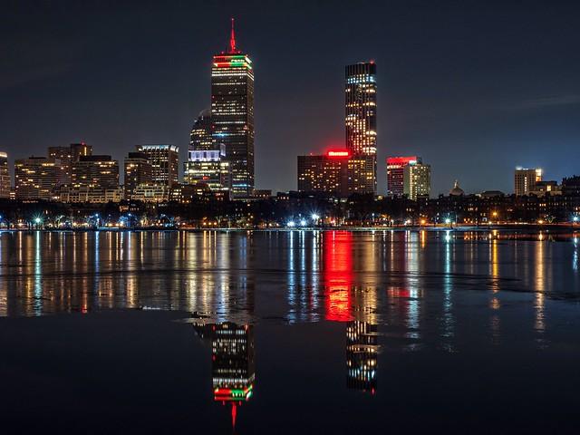 Boston in night!