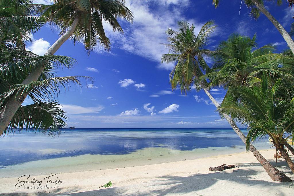 Palm Village Guesthouse beach front in Barangay Lala-o, San Juan