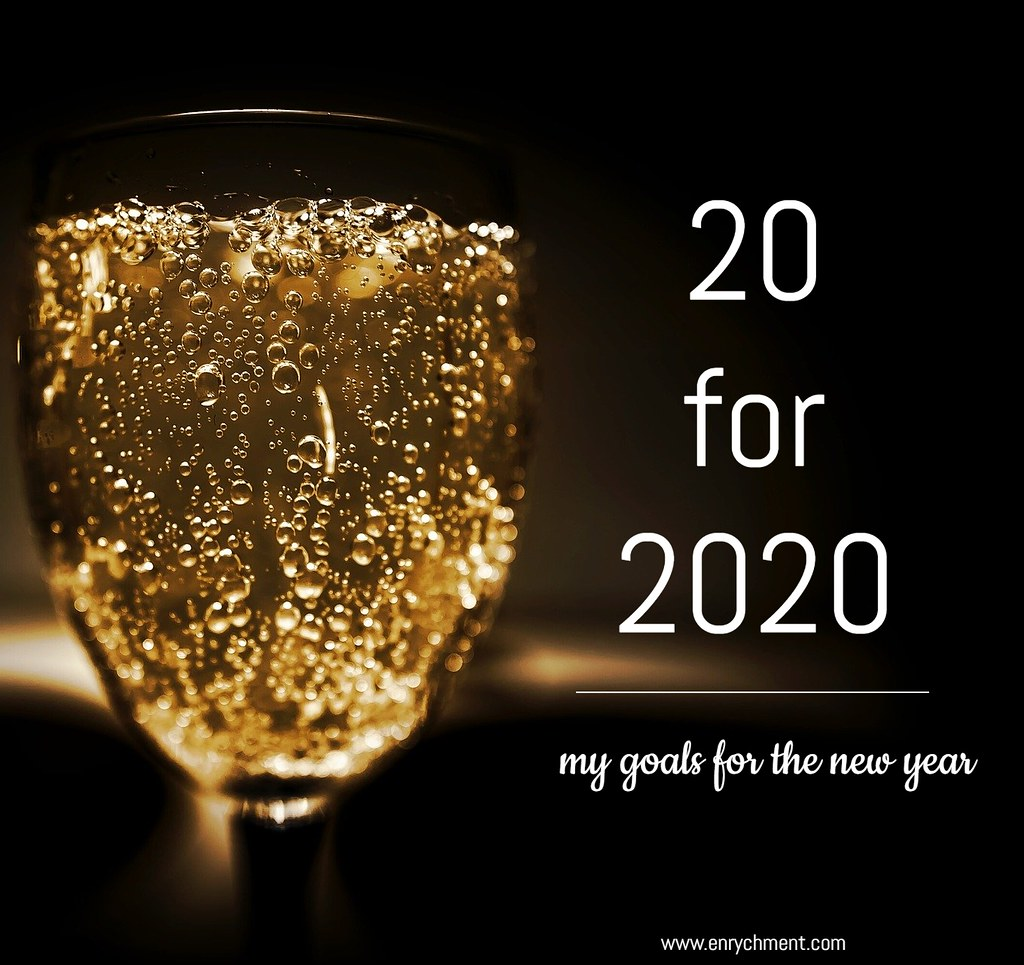 20 goals for 2020 | www.enrychment.com