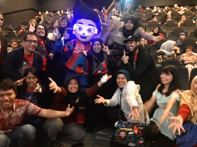Filem Ejen Ali Tawan 100 Pawagam Di Indonesia