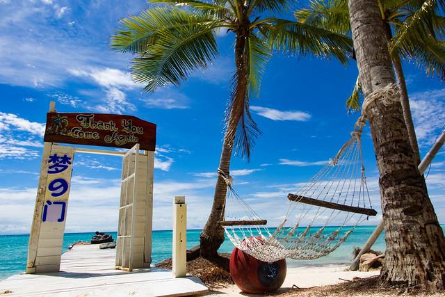Tropical Scene On Mantanani Island