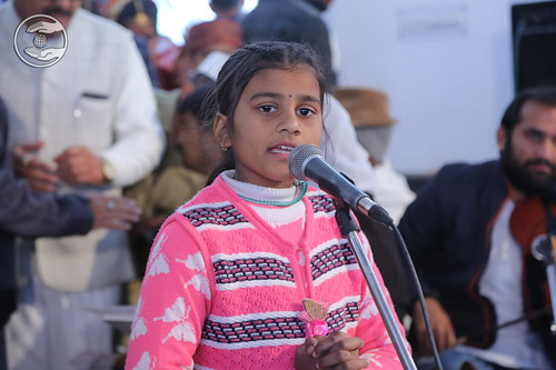 Devotional song by Baby Pooja from Haldwani UK