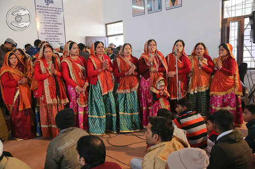Traditional song by devotees from Bhowali