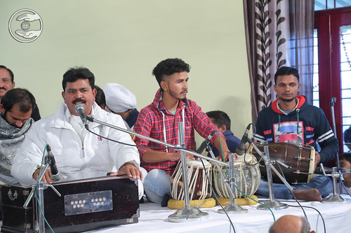 Devotional song by Anand Rahi Ji from Moradabad UP