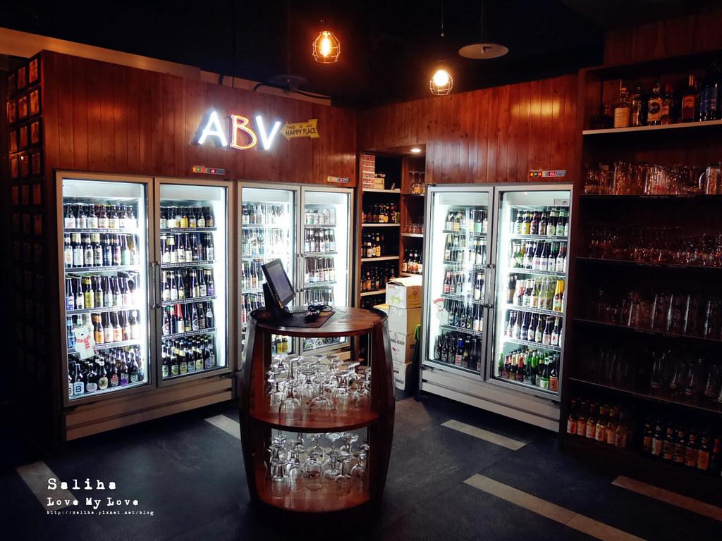 台北看夜景觀餐廳推薦ABV Bar Kitchen閣樓餐酒館頂樓世界精釀板橋府中店 (1)