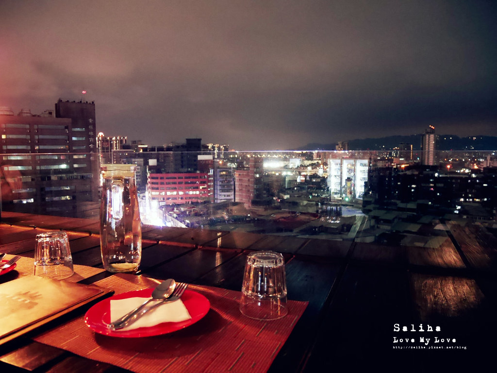 台北板橋夜景觀餐廳推薦ABV Bar Kitchen 閣樓餐酒館餐廳適合聚餐多人 (5)