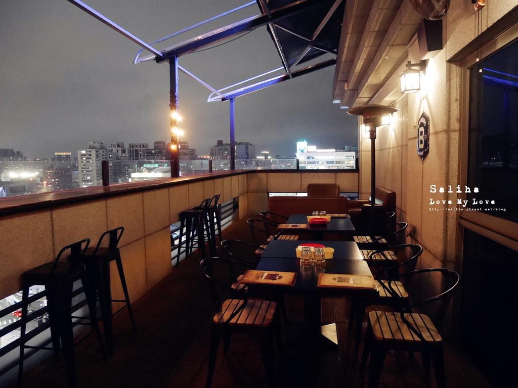 台北板橋夜景觀餐廳推薦ABV Bar Kitchen 閣樓餐酒館餐廳適合聚餐多人 (2)