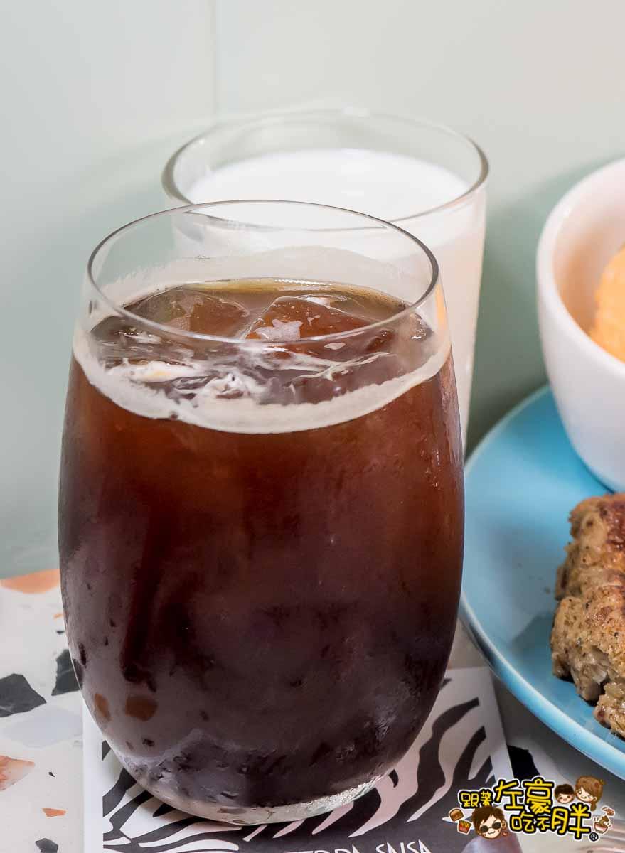 斑馬騷莎 咖啡-1