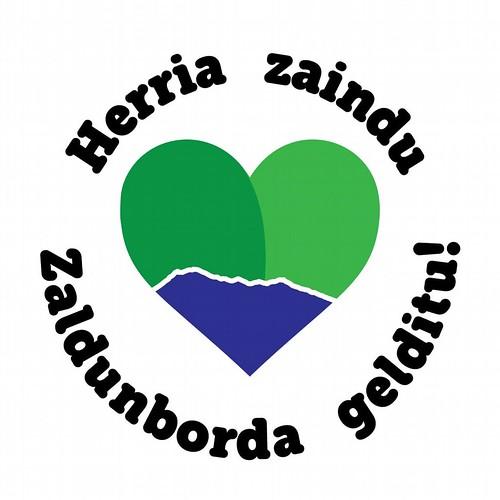 Zaldunborda plataformaren logoa