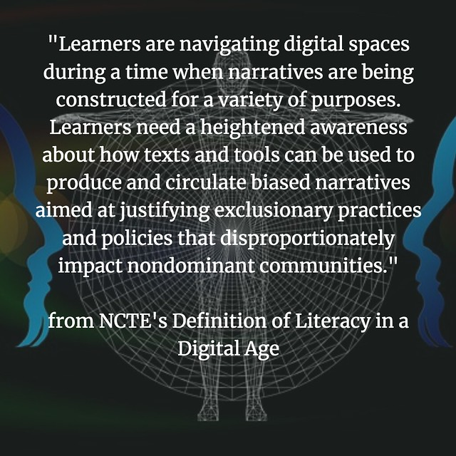 Defining Digital Literacies NCTE narratives