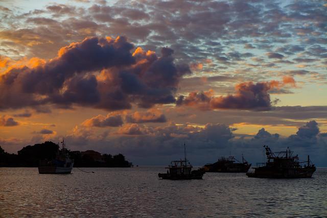 Sunset In Kota Kinabalu, Borneo