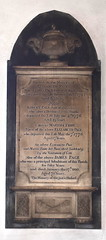 'Died Suddenly by the Visitation of God': Page memorial, 1790s