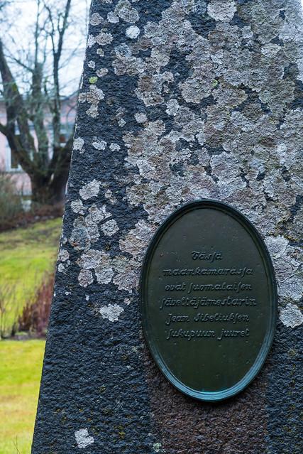 Jean Sibelius obelisk, Töyrylä Manor, Asikkala