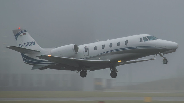 D-CRON - Cessna 560xl citation @ Cardiff Airport 27/12/19