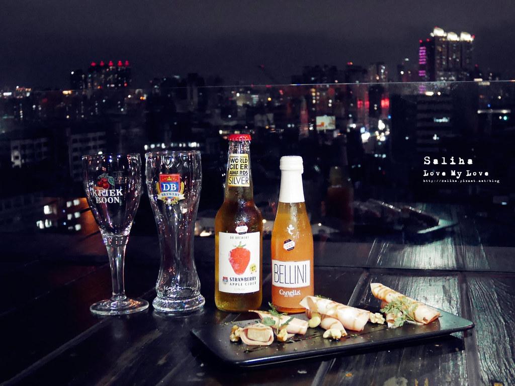台北看球賽不限時餐廳喝酒推薦ABV Bar Kitchen閣樓餐酒館頂樓景觀板橋府中站啤酒 (1)