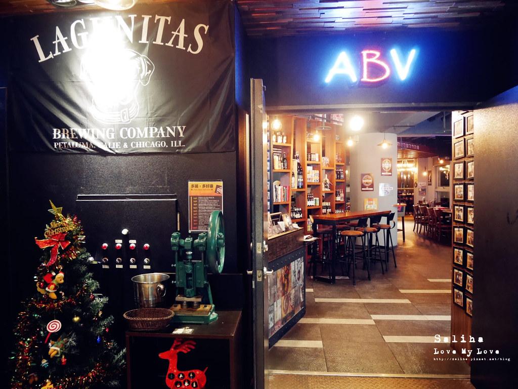 台北看夜景觀餐廳推薦ABV Bar Kitchen閣樓餐酒館頂樓世界精釀板橋府中店 (3)