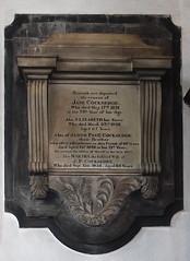 Cocksedge memorial, 1830s
