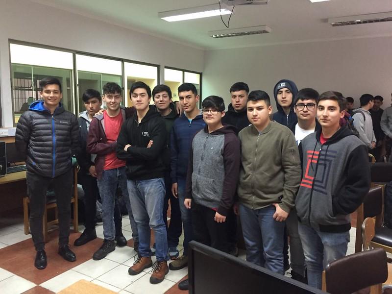 Escuela Abierta 2019, Soldadura, Biomedica, Computación