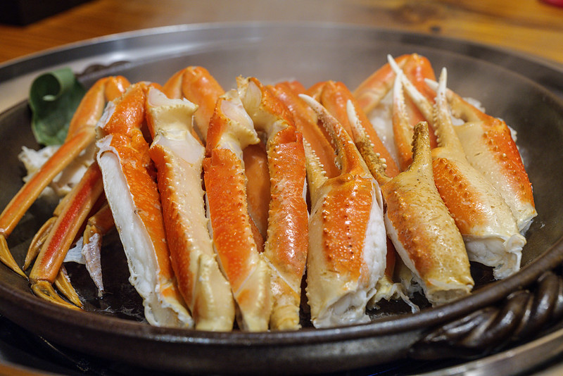 Crab is the world's best delicious