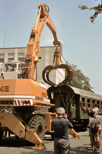 Entgleisung Inselfest Baienfurt Juli 1983