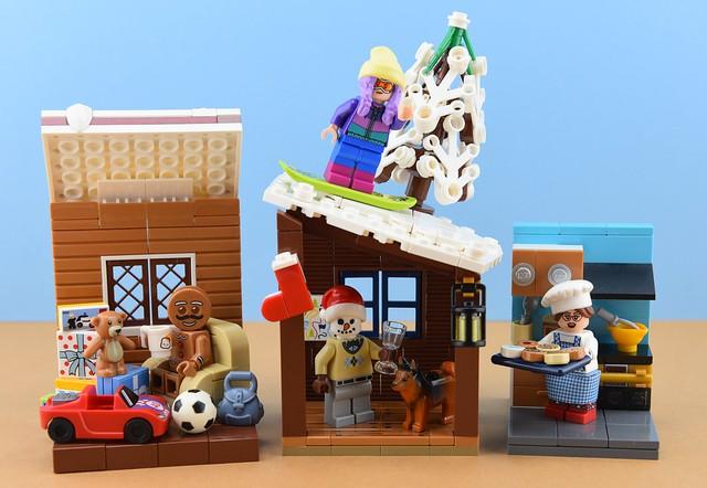 Random minifigs #14 : Christmas people