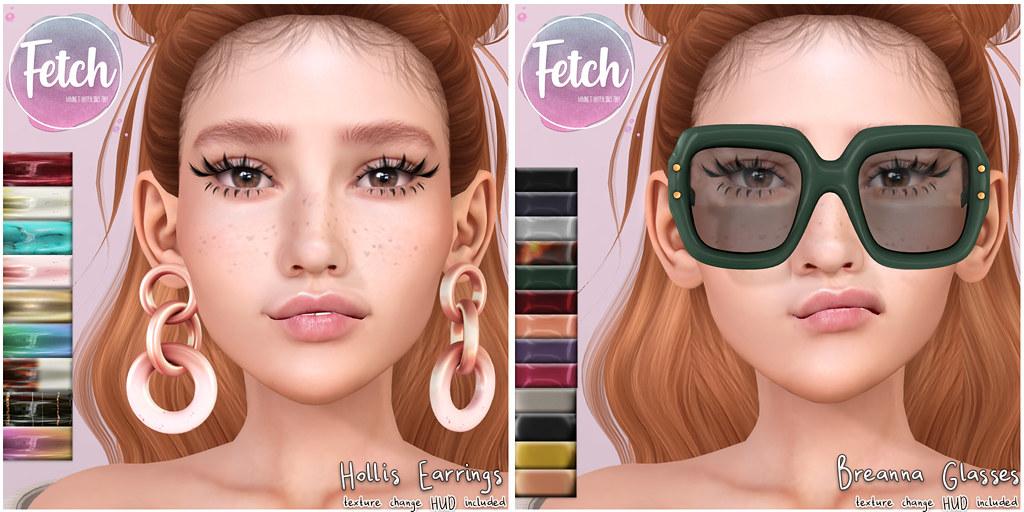 [Fetch] Hollis Earrings & Breanna Glasses @ Uber!