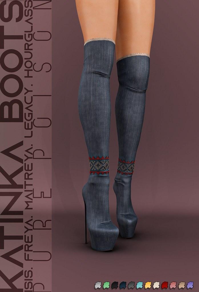Pure Poison - Katinka Boots - AD