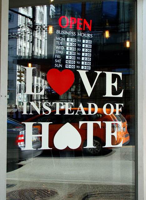 Love Instead of Hate