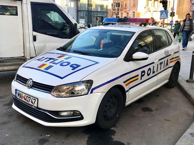 Poliția Română.