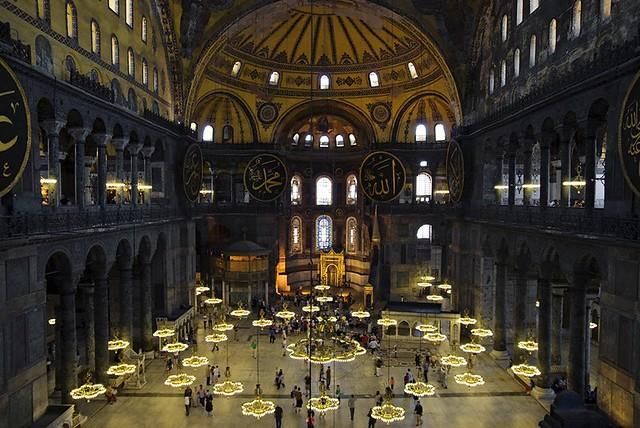 Istanbul (Turquie) / Istanbul (Turkey) - La basilique Sainte-Sophie / Hagia Sophia