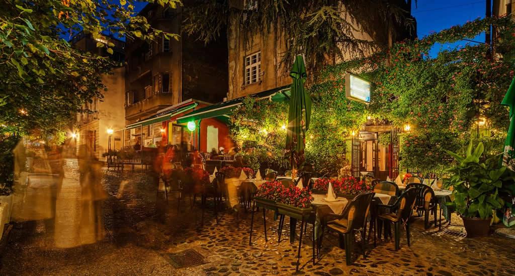 Restaurants aan de Skadarska, Skadarlija | Mooistestedentrips.nl