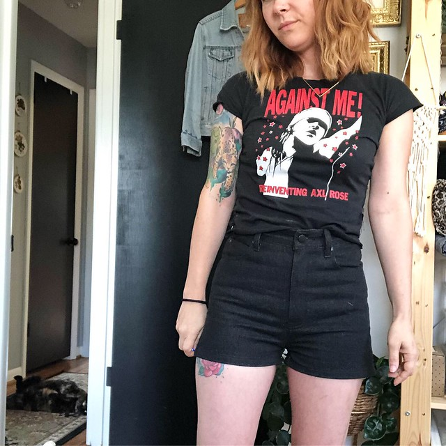 2019: Black shorts